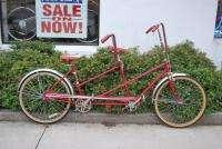 Vintage Huffy Daisy Cruiser tandem bicycle coaster steel bike