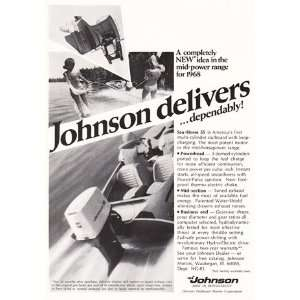 Print Ad: 1968 Johnson Motors: Johnson: Books