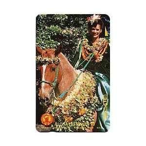 Collectible Phone Card Aloha Festivals 93   Pau Horse