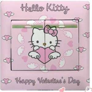 Cute Hello Kitty Design DIY Decal Switch Sticker