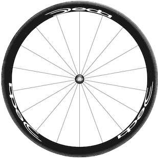 Bike Rim Decal Sticker Kit for Complete Wheelset