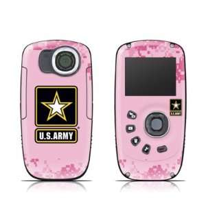 Army Pink Design Protective Skin Decal Sticker for Kodak