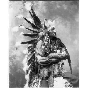 Little Horse,Og Sioux Indian,c1889,Traditional Dress: Home