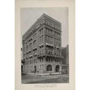1902 Chicago Telephone Exchange Building Orig. Print