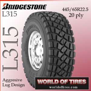 L315 445/65R22.5 20 ply semi truck tires 445 65r22.5 22.5 tires