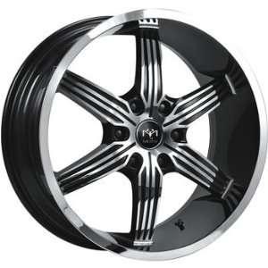 Motiv Motion 20x9 Chrome Black Wheel / Rim 6x135 with a 30mm Offset