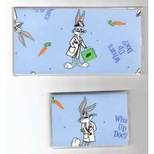 Checkbook Cover Debit Set Bugs Bunny Whats Up Doc