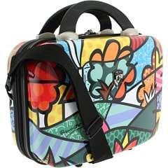 Romero Britto Flowers Land Beauty Case Luggage Heys NEW