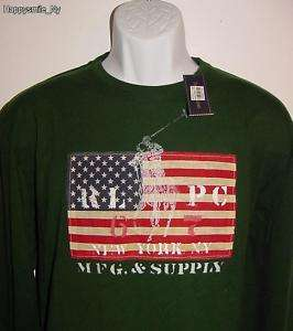 NWT Authentic Polo Ralph Lauren Mens T Shirt Sz M L★