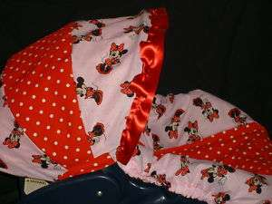 DISNEY MINNIE MOUSE Baby Infant Car Seat Cover Graco