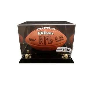 Seattle Seahawks Deluxe Football Display Case