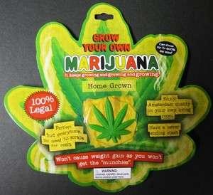 One New Novelty Grow Your Own Marijuana Gag Gift
