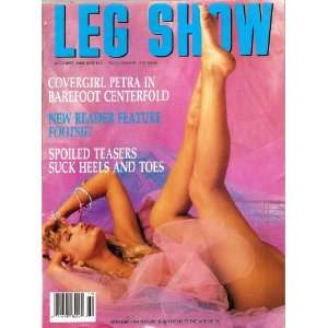 LEG SHOW MAGAZINE OCTOBER 1989: LEG SHOW: Books