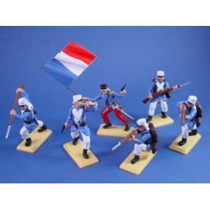 DSG Toy Soldiers French Foreign Legion in Powder Blue Toys & Games