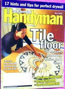 May 2000 tile floor, tornado safe room, high storage workbench