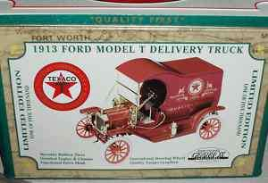 GEARBOX 1913 FORD MODEL T DELIVERY TRUCK TEXACO 1/16
