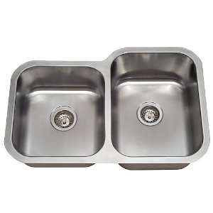 Undermount Double Bowl Stainless Steel Kitchen/Bar Sink