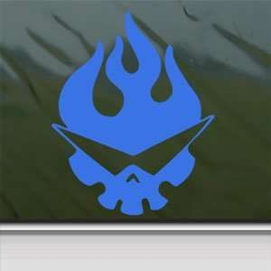 Tengen Toppa Gurren Lagann Blue Decal Window Blue Sticker