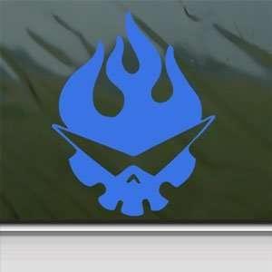 Tengen Toppa Gurren Lagann Blue Decal Window Blue Sticker
