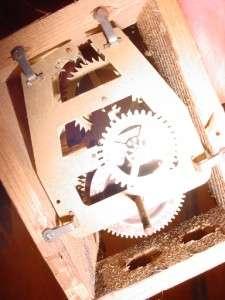 Old Vintage Medium German Cuckoo Clock for Parts or Restoration Work