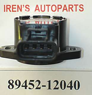 88 95 TOYOTA TPS THROTTLE POSITION SENSOR 89452 12040