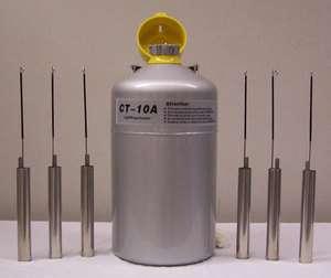 CT 10 CTCryogenics Liquid Nitrogen LN2 Semen Tank