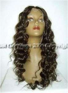 100% Indian Remy Human Hair Wig 22 Full Lace Curly