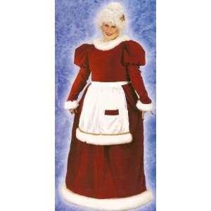 Mrs. Santa Claus Velvet Plus Size Christmas Costume 16W