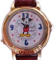 Disney New Music Happy Birthday Mickey Mouse Watch HTF