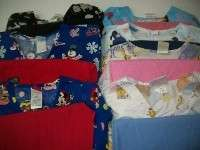 Medical Dental Vet Scrubs Lot 7 CHARACTER Outfits Sets Sz SMALL SML SM
