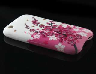 Blossom Silicone Soft Case Cover Skin Protect For Apple iPhone 3G 3GS