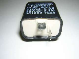 Suzuki Turn Signal Flasher Relay NEW Fits 70 90 Models