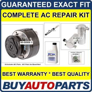 CHEVY S10 & BLAZER AC REPAIR KIT NEW COMPRESSOR 88   91