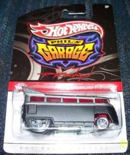 Hot Wheels Phils Garage Volkswagen T1 Drag Bus BR1
