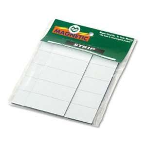 Magnetic Write On/Wipe Off Pre Cut Strips 7/8h x 2w   2 x