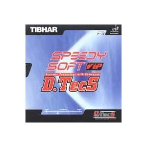 TIBHAR Speedy Soft D.TecS VIP Table Tennis Rubber