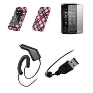 Protector+Car Charger+USB for LG VU CU920/CU915 220995043756