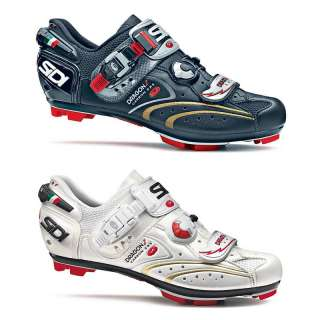 SIDI MTB DRAGON 2 CARBON SRS BLACK BIKE SHOES