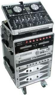 NEW AMERICAN AUDIO TLC PRO 8x14 Rack Case on Wheels