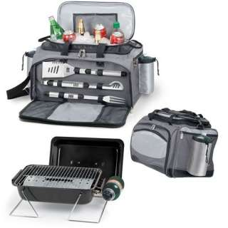 PICNIC TIME VULCAN INSULATED TAILGAITING COOLER GRILL