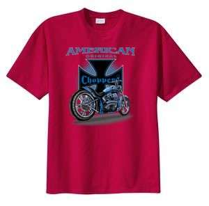 American Original Chopper Biker T Shirt S  6x