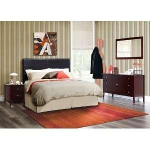 Lof 5PC Queen Bed in a Box, Includes Queen Headboard
