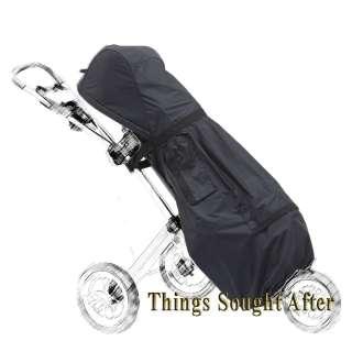 GOLF BAG RAIN COVER for 3 Wheel Push Cart Full Length Club