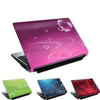 15 Pink PVC Laptop Skin Cover Flim Art Decel For Dell