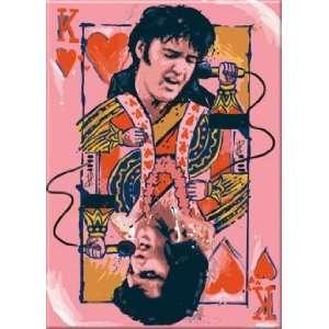 Elvis King Of Hearts Magnet 26341E