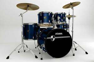 Tama Imperialstar 5pc Complete Drum Set (22), Cymbals + Hardware
