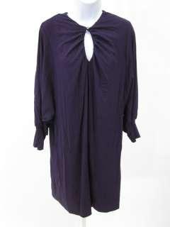 NICOLE MILLER COLLECTION Purple Tunic Dress Sz M