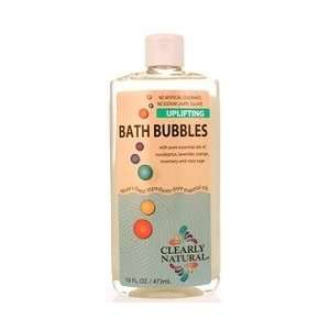 Clearly Natural Soaps   Uplifting   Bath Bubbles 16 oz Beauty