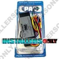 PAC C2R GM32R GM RADIO REPLACEMENT INTERFACE HARNESS