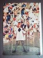 1967 Raggedy Ann Model dress  Geoffrey Beene fashion ad